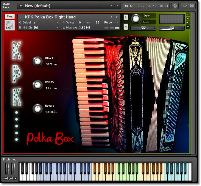 Free Accordion Vst